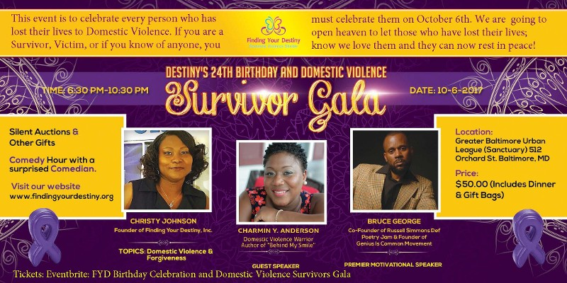 Survivor Gala Flyer